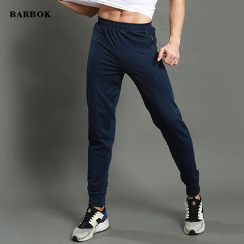 BARBOK New Men Jogging Pants Summer GYM MMA Compression Sweatpants Breathable Running Basketball Sportswear Male Trousers