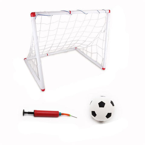Children's indoor and outdoor goal disassembling folding portable goal door frame box frame football tennis #W21