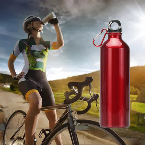 500ML Lightweight Stainless Steel Wide Mouth Drinking Water Bottle Outdoor Travel  Sports Bottle With handle #EW