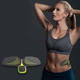 Electric EMS abdominal Exercise Smart Training Arm Muscles Intensive Training Massage Women Slimming Fitness Accessories