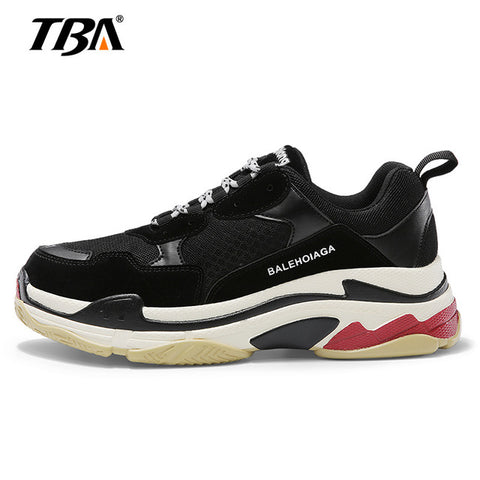 2018 NEW Couple Casual Shoes Air Mesh Breathable Outdoor Cushion Unisex Shoes Triple-S Sneaker Zapatillas Hombre