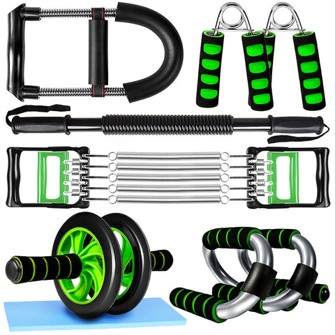 Fitness equipment set Accessory arm muscle chest equipment wrist grip wheel push-up bracket Mat for Exercise Fitness Equipment