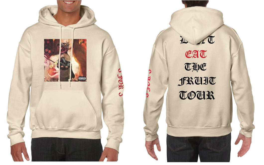 DON'T EAT THE FRUIT 3 FOR 3 HOODIE + FREE CD!