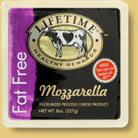 Lifetime Fat Free Mozzarella Cheese
