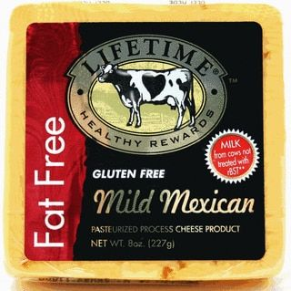 Lifetime Mild Mexican Fat Free Cheese