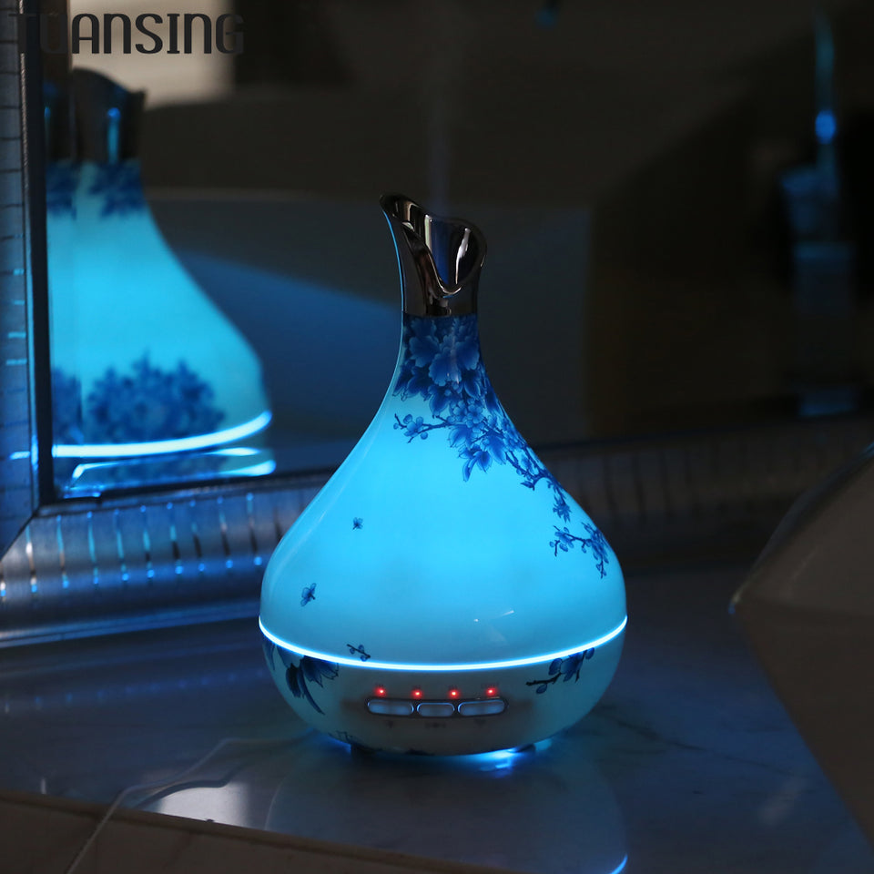 Tuansing Blue and White Porcelain Humidifier