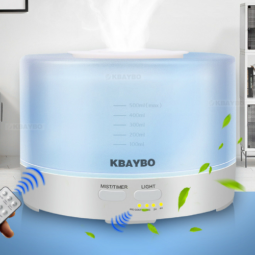 Kbaybo 500ml Remote Control Ultrasonic Humidifier