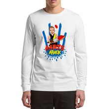 Load image into Gallery viewer, AARTS ATTACK LONG SLEEVE - FRONT ONLY