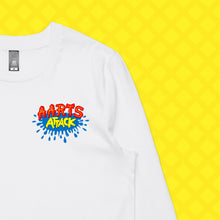Load image into Gallery viewer, AARTS ATTACK LONG SLEEVE - FRONT/BACK