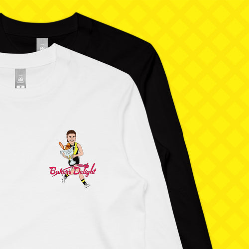 BAKER'S DELIGHT LONG SLEEVE - FRONT/BACK