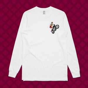 CHARLIE-DAVIDSON LONG SLEEVE - FRONT/BACK