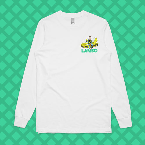 LAMBO LONG SLEEVE - FRONT/BACK