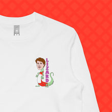 Load image into Gallery viewer, LIZARD LONG SLEEVE - FRONT/BACK