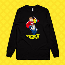 Load image into Gallery viewer, OPTIMUS GRIMES LONG SLEEVE - FRONT ONLY