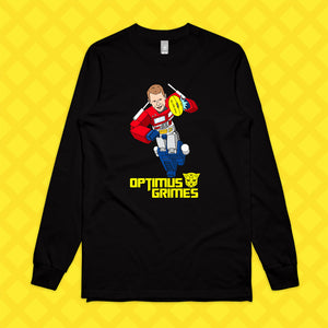 OPTIMUS GRIMES LONG SLEEVE - FRONT ONLY
