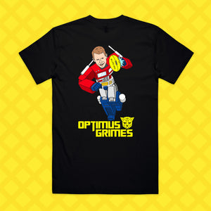 OPTIMUS GRIMES TEE - FRONT/BACK