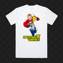 Load image into Gallery viewer, OPTIMUS GRIMES TEE - FRONT/BACK