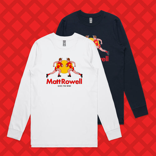 ROWELL LONG SLEEVE - FRONT ONLY