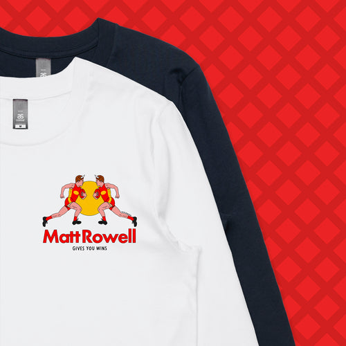 ROWELL LONG SLEEVE - FRONT/BACK