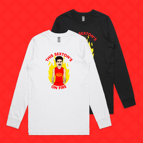 THIS SEXTON'S ON FIRE LONG SLEEVE - FRONT ONLY