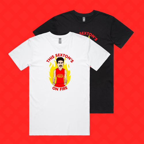 THIS SEXTON'S ON FIRE TEE - FRONT ONLY