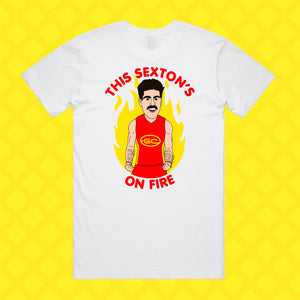 THIS SEXTON'S ON FIRE TEE - FRONT/BACK