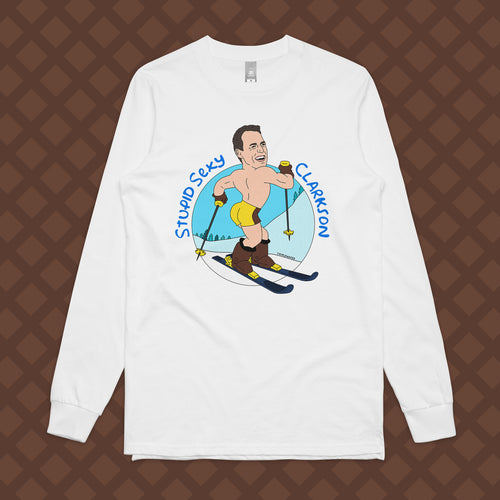 STUPID SEXY CLARKSON LONG SLEEVE - FRONT ONLY