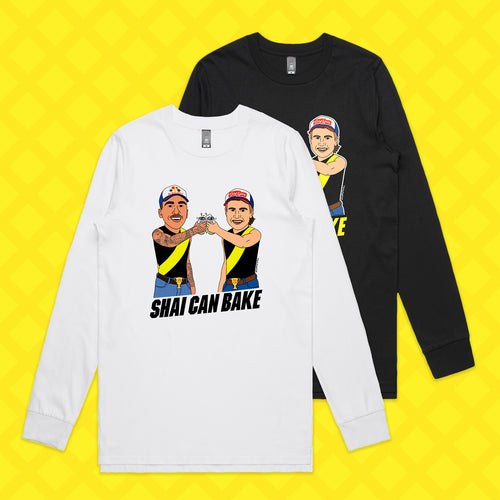 SHAI CAN BAKE LONG SLEEVE - FRONT ONLY