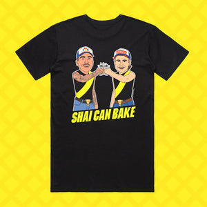 SHAI CAN BAKE TEE - FRONT/BACK