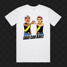 Load image into Gallery viewer, SHAI CAN BAKE TEE - FRONT/BACK