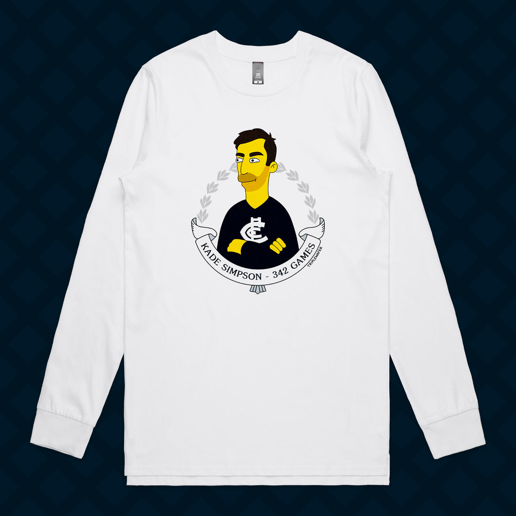 SIMPSON LONG SLEEVE - FRONT ONLY