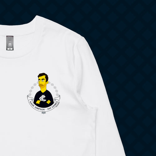 SIMPSON LONG SLEEVE - FRONT/BACK
