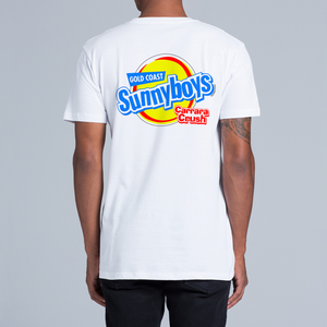 SUNNYBOYS TEE - FRONT/BACK