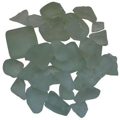 Amantii White Frosted Fire Glass - 5 lbs. - AMSF-GLASS-07 - eFireplaceDirect.com