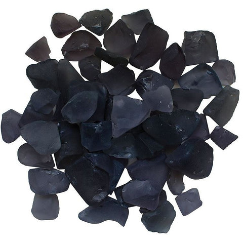 Amantii Dusty Purple Frosted Fire Glass - 5 lbs. - AMSF-GLASS-08 - eFireplaceDirect.com