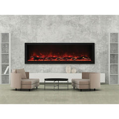 Amantii Panorama Deep XT Series BI-72-DEEP-XT Built-In Electric Fireplace