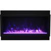Image of Amantii Panorama Deep XT Series-BI-40-DEEP-XT-Built-In Electric Fireplaces - eFireplaceDirect.com
