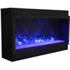 Image of Amantii Panorama Deep XT Series-BI-50-DEEP-XT-Built-In Electric Fireplaces - eFireplaceDirect.com