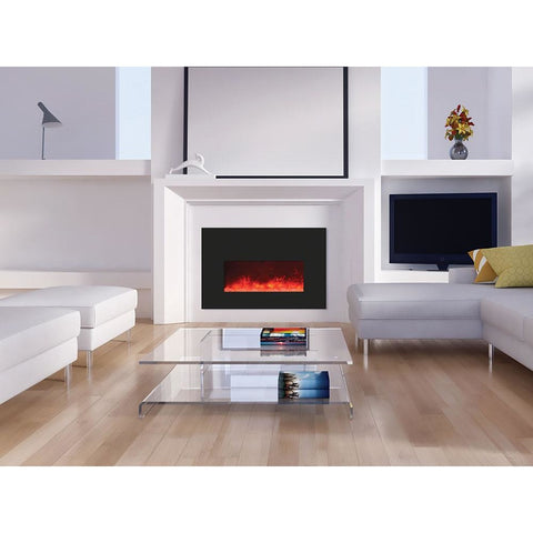 Amantii Insert Series-INSERT-26-3825-BG-Built-In Electric Fireplaces - eFireplaceDirect.com