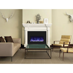 Amantii Insert Series INSERT‐33‐4230-BG Built-In Electric Fireplace