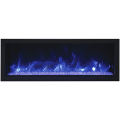 Image of Remii Extra Slim Indoor/Outdoor Frameless Built-in 102745-XS Electric Fireplace