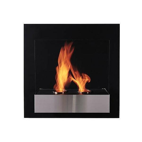"The Bio Flame Pure - 24"" Wall Mounted Ethanol Fireplace"