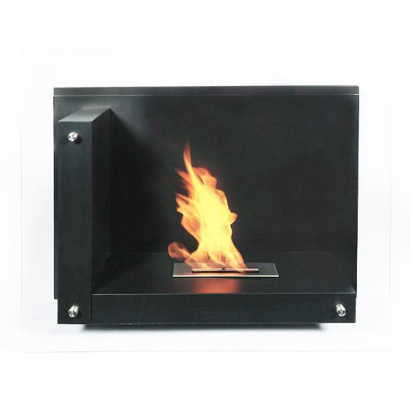 "The Bio Flame Static - 47"" Free Standing Ethanol Fireplace"
