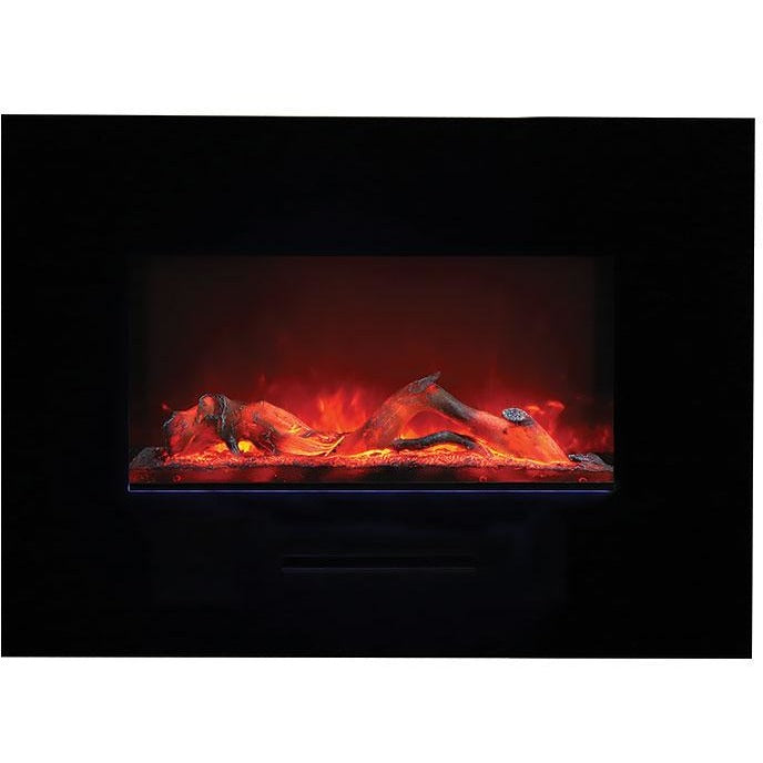 Amantii Wall Mount / Flush Mount Series-WM-FM-26-3623-BG-Wall Mount Electric Fireplaces - eFireplaceDirect.com