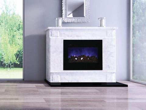 Amantii Zero Clearance Series ZECL-30-3226-FLUSHMT-BG Electric Fireplace