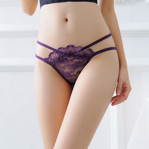 Women Lace Briefs Panties Thongs G-string Lingerie Underwear