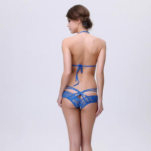 Sexy Women Underwear Lace Bra T Stripper Erotica Bikini Set