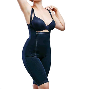 Women Fashion Sexy Full Body Shaper Underbust Corset Shoulder Strap Shapewear Waist Girdle Open Bust Tummy Control Fajas Colombianas S-6XL