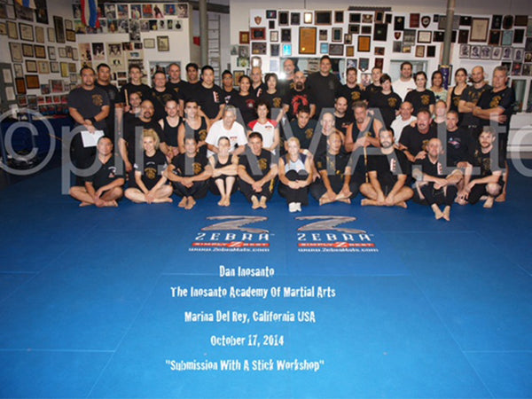 Photo - 2014-10 - Inosanto Stick Submission Workshop