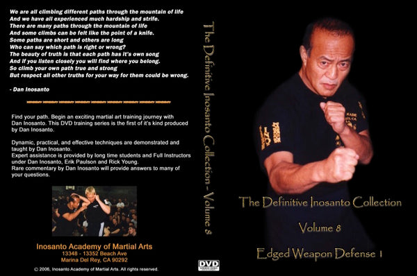 Inosanto - Definitive Collection - Volume 8